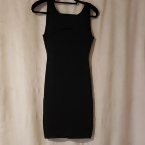 Guess by Marciano black bandeau dress